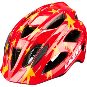 Lazer P'Nut Helmet with Insect Net Kids red stars